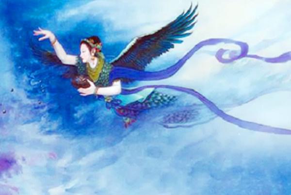 精卫填海是神话故事_远古人类史事记录、之——精卫填海的神话故事