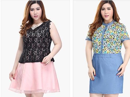 夏季胖女人穿什么的裙子才最显瘦