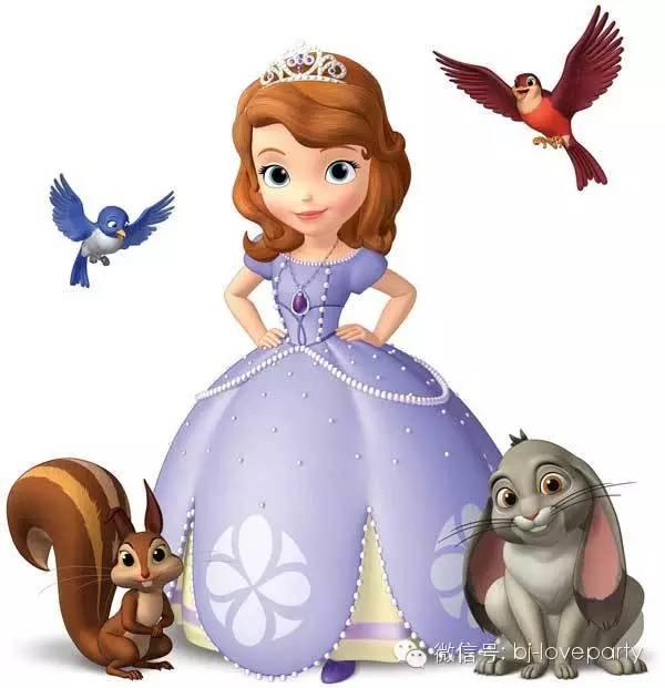 小公主苏菲亚主题生日派对