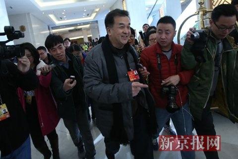 黄宏亮相北京会议中心