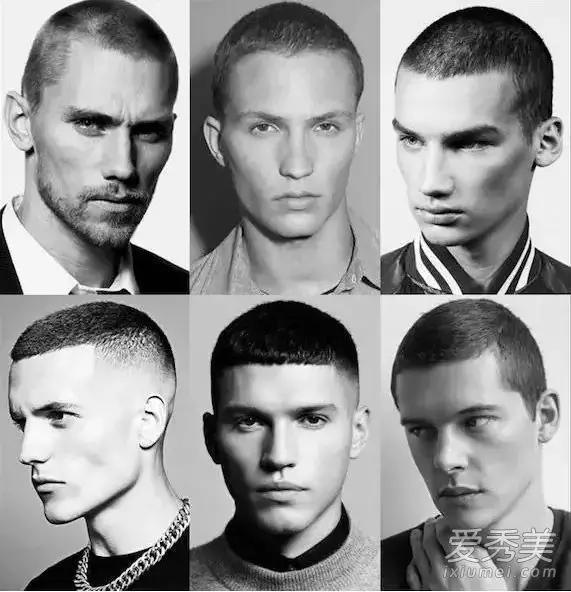 头发细软头发少的男生适合这样的发型