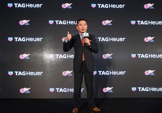TAG Heuer泰格豪雅大中华区总经理潘锦基先生致辞