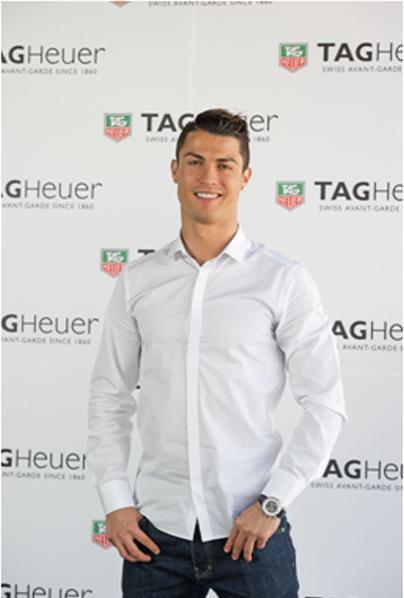 足坛巨星,两届金球奖得主克里斯蒂亚诺 罗纳尔多(Cristiano Ronaldo)