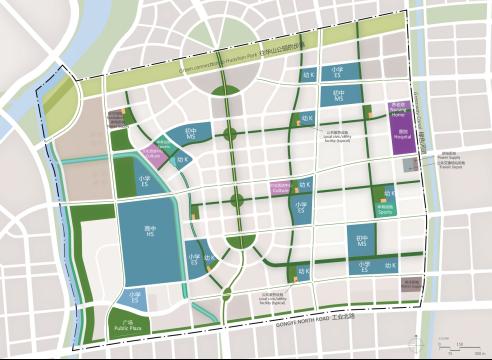 市政网络结构图