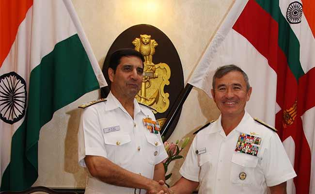 美军和平洋司令部司令哈里斯拜访印度(材料图)