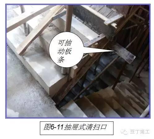 必须设置垫木及扫地杆,竖杆间距及步距符合方案设计要求(见图6-