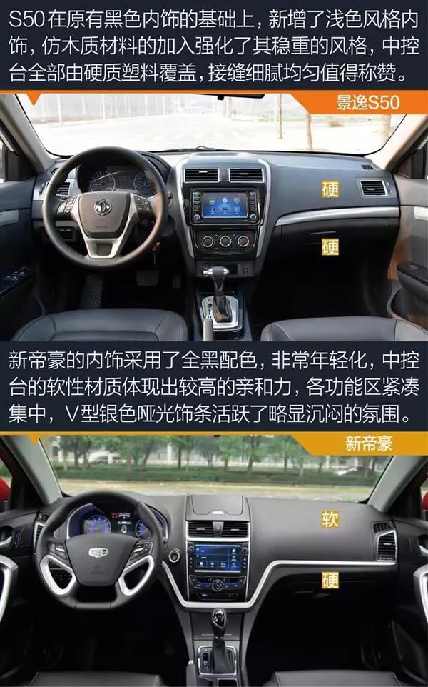 老虎咬病猫 新帝豪VS景逸S50高清图片
