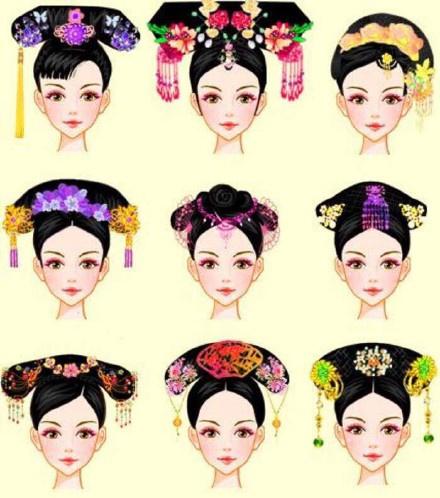 古代发型头饰,你最喜欢哪一个?
