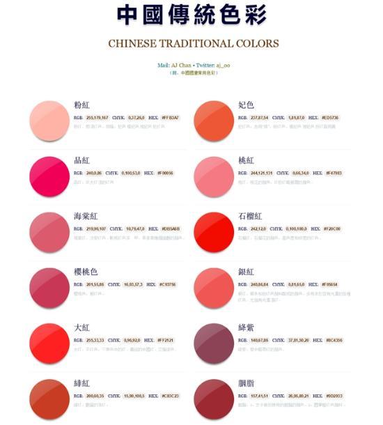 自怕色图区_传统色谱 丨 三十一色(组图)