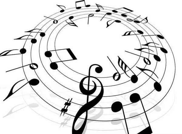 音乐讲究音色,以高低,轻重,缓急,长短的节奏旋律等来表达某种情境和美图片