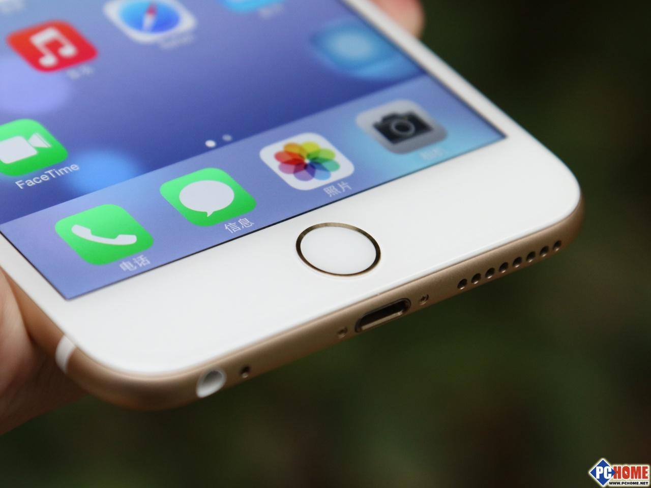美版iphone6plus依旧延续了800万像素的镜头设计图片