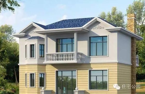 18套20万的新农村自建别墅设计,农村的收藏了去盖高清图片