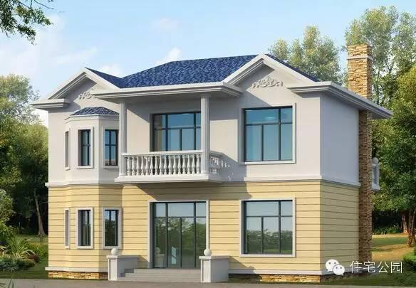 18套20万的新农村自建别墅设计,农村的收藏了去盖