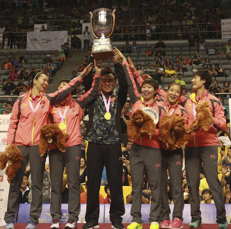 国家女队夺冠