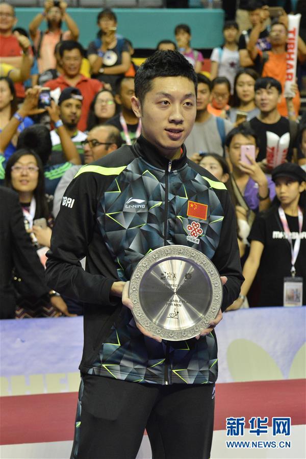3月6日,国家队选手许昕取得MVP(最有代价男球员奖)