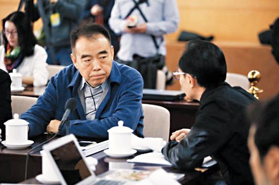 陈凯歌被问到如何用电影讲好中国故事