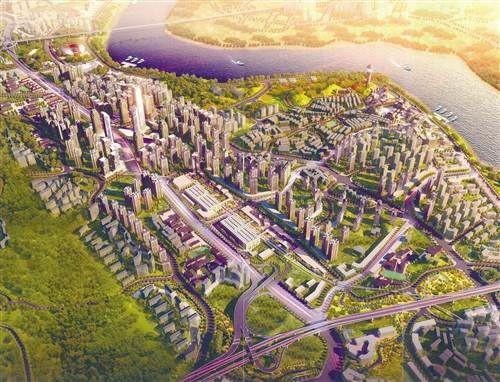 面积为1平方公里多的井口工业园区将逐步转型升级并形成企业总部区.
