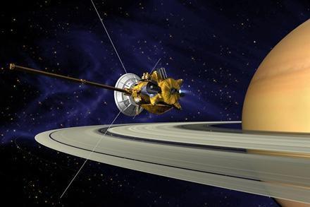 """探索土星的""""卡西尼-惠更斯号""""上使用了核电池"""