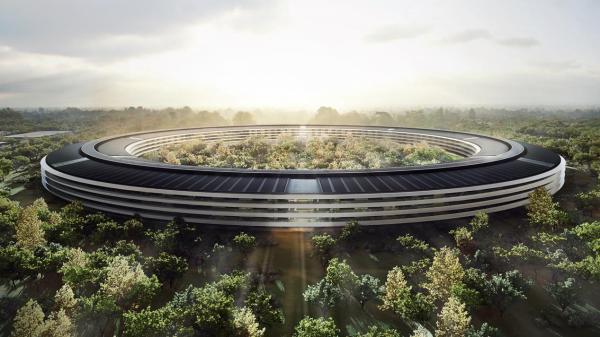 不仅主楼的屋顶均由太阳能板组成,大楼建成后,整个新总部80%的面积都将会由园林景观构成。