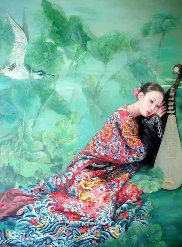 胡峻涤油画 人的一生应该像一朵花,花有色,香,味;人有才,情,趣.图片