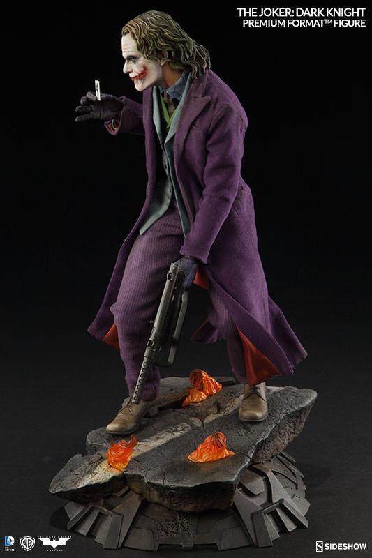 蝙蝠侠 黑暗骑士 经典反派小丑杰克雕像模型