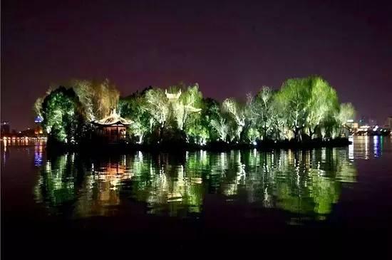 【西湖之夜】湖中三岛智慧夜景观初现
