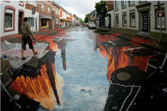 些酷炫到爆表的街头涂鸦图片