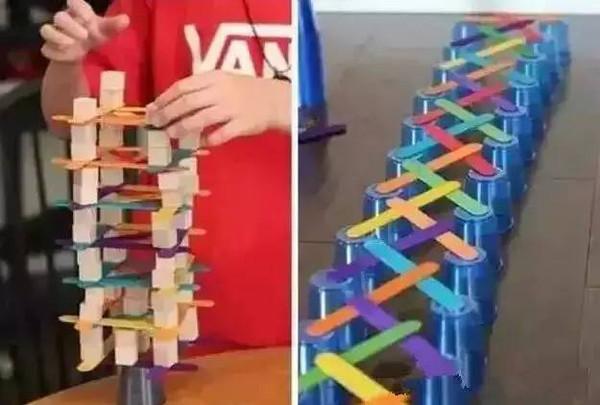 【创意分享】超赞的搭建游戏玩法,别只知道玩积木了图片