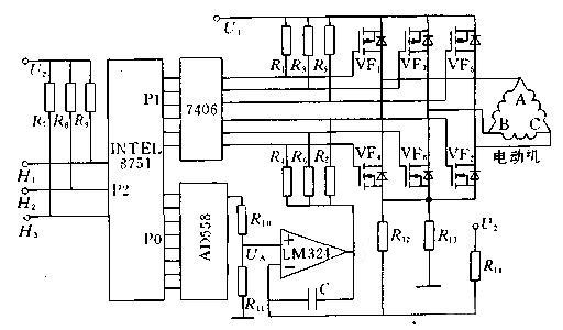 12v无刷调速电机,用于直流无刷电机驱动的单片机