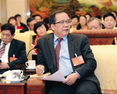 全国人大代表、北京大学校长林建华。图/IC