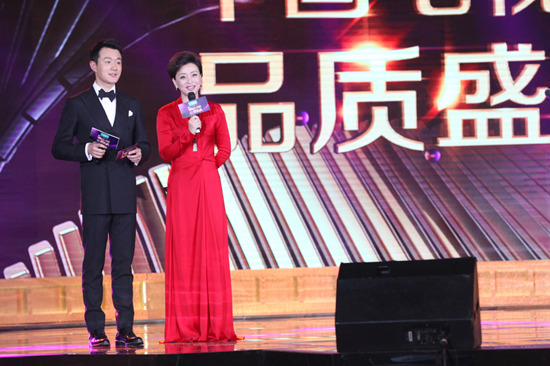 佟大为搭档杨澜献出颁奖礼主持首秀