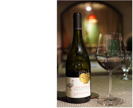 此款shiraz获得詹姆斯哈利德葡萄酒年鉴95分.图片