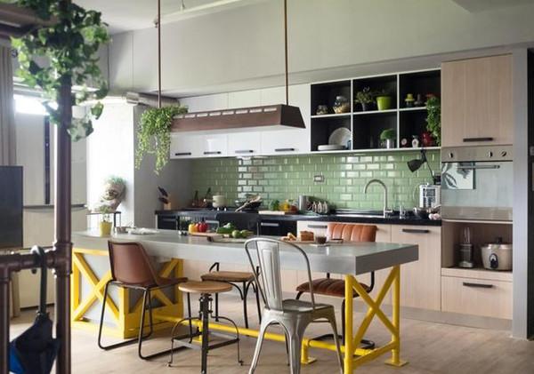 由高雄好室设计house design设计的这套有着122平米的新装修的家打破