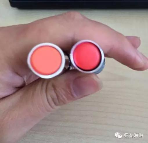 mac口红怎么分辨真假 香奈儿口红42 43对比 ,美颜秘笈口红真假对比