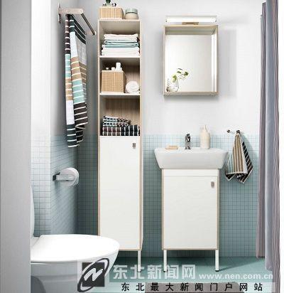 再美的浴室柜 也受不了马赛克这样的折腾 组图
