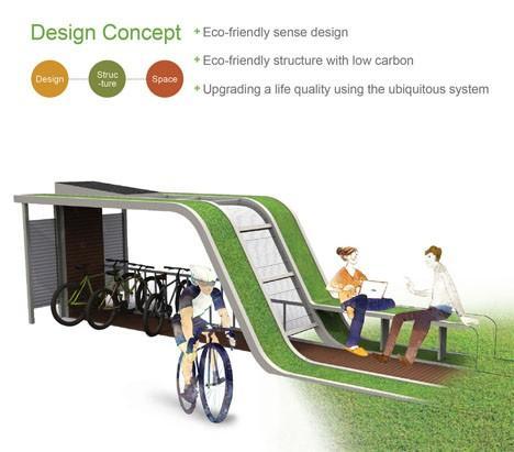 【组图】未来的自行车停放所(组图)图片