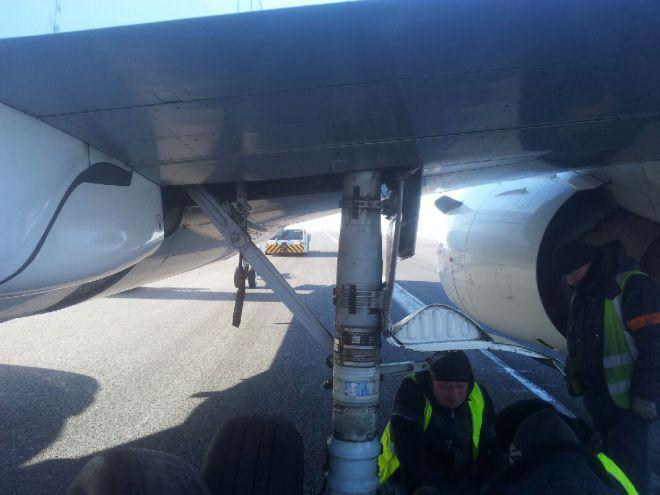 俄罗斯客机丢右侧机轮 起飞50分钟后才发现