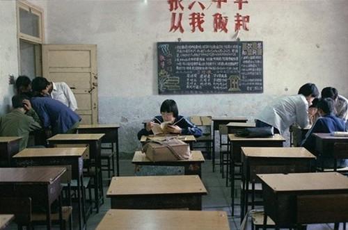 老照片 80年代中学生们的校园生活