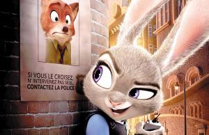 作为第一个从警官学校毕业的兔子,离开家乡后,到梦想中的动物城做了图片