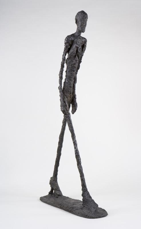 行走的人,1960,铜