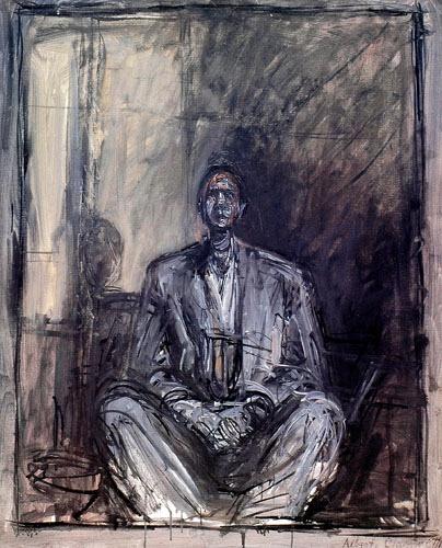 让·热内肖像,1955