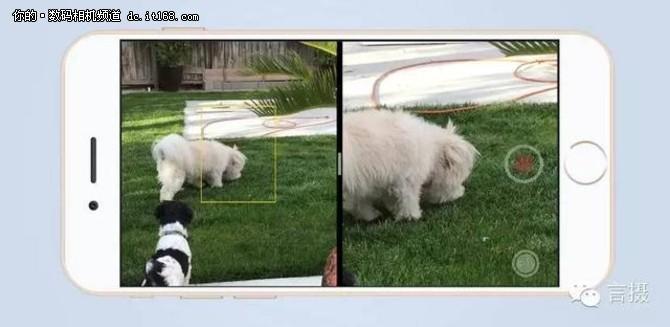 拍摄时,两个镜头能同时捕捉到影像,配合软件(或新的