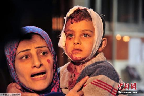 当地时间2月21日,叙利亚首都大马士革南郊遭连环爆炸袭击,造成数百人伤亡。