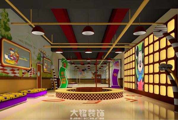 鹤壁健身房装修_健身会所装修设计公司效果图