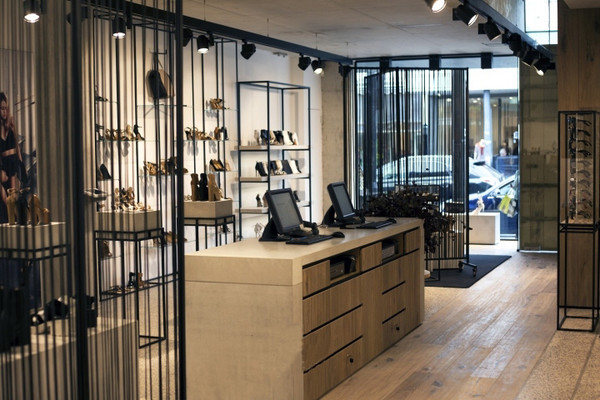 鞋专卖店收银台装修效果图