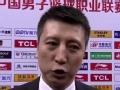 郭士强:篮板球是赢球关键 球队靠防守赢得比赛