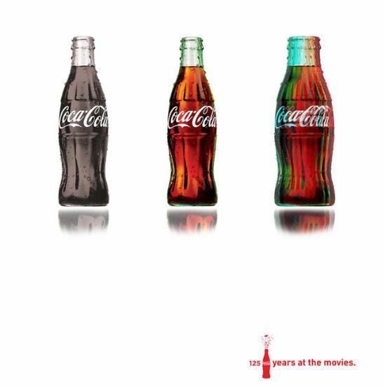 可口可乐创意广告集 组图