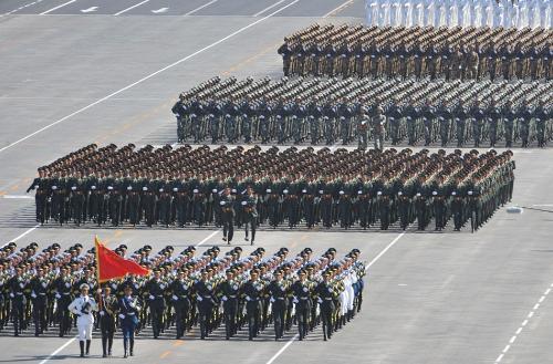 2019军事排行榜_庆祝中国人民解放军建军90周年阅兵 受阅部队整装待阅