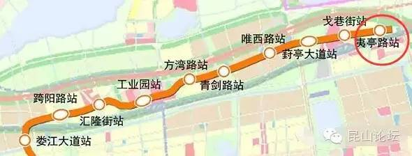 真的来了 S1线昆山段沿线城市设计开始招标,即将进入地铁时代图片