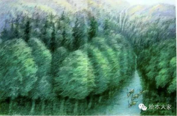 绘本中保卫森林的勇士们